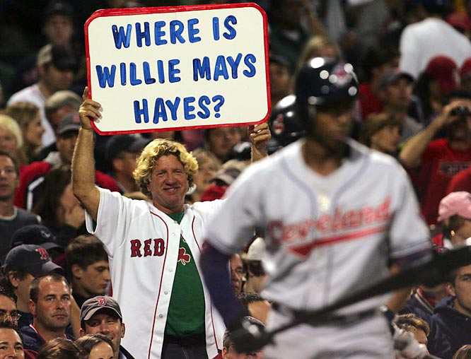 Is that Sammy Hagar holding up the sign?