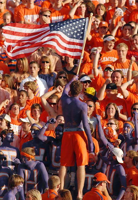 Clemson fanatics are ready for their team to redeem itself after last season's fall from spectacular to average in the ACC.