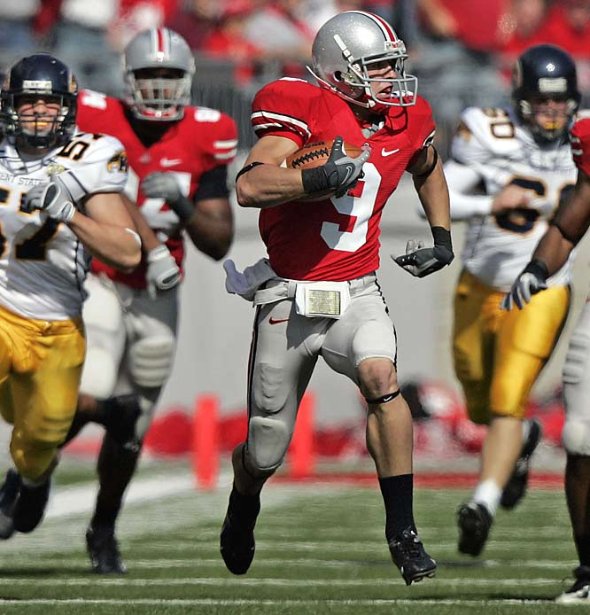 Following losses by LSU and Cal, Ohio State jumped to No. 1 in both major polls (AP, Coaches) and debuted atop the BCS poll. The Buckeyes finish off the season against five teams that all currently boast a 5-2 record, starting with Saturday's home contest against Michigan State.