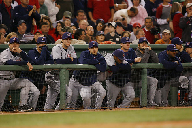 Finally, the Indians were about to go back to the World Series for the first time since 1997, but they couldn't hold on against the Red Sox. But fans' expect that from this team, which hasn't won a championship since 1948. The Browns haven't been any better. Since they returned to Cleveland in 1999, they've had just one winning season. That leaves the city's sports' hopes on Lebron James' shoulders. All Cleveland fans pray he'll never leave the Cavs for the bright lights of a bigger city.