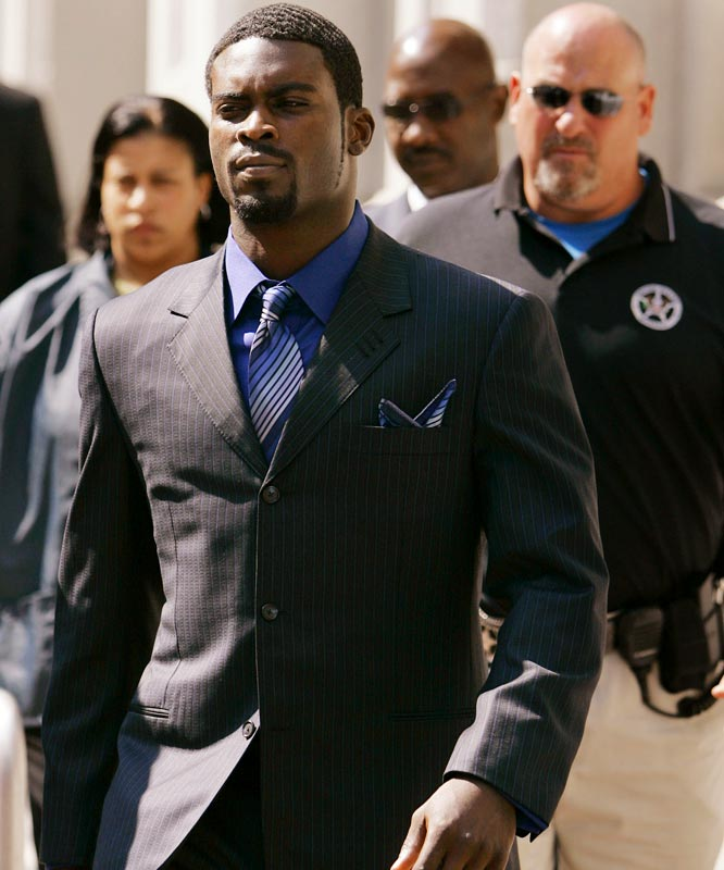 The city's biggest sports hero, Michael Vick, is facing jail time for dogfighting and his Falcons are one of the worst teams in the NFL. The Braves have failed to make the postseason two straight years after 14 trips to the playoffs. And the Hawks' only luck has come in the lottery, but they consistently take the wrong guy at the top of the draft.