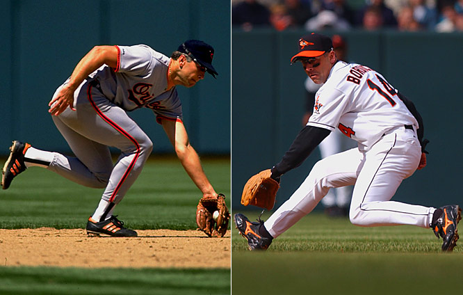 No, Bordick didn't end Ripken's record consecutive-games streak. That was all Cal's doing, his decision. Bordick was the A's free-agent shortstop Baltimore signed before 1997, the season Ripken finally switched from short to third. Bordick played for two more teams before retiring in 2001. Cal? Cooperstown, 2007.