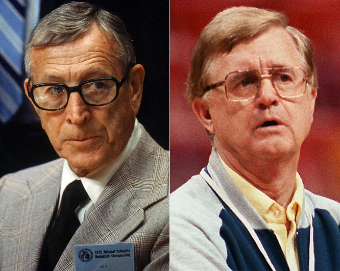 Onward, Wooden successor! Onward to UAB! Gene Bartow had no chance following in John Wooden's Kong-sized UCLA footsteps (10 NCAA titles in 12 years). Two seasons, a 52-9 record and a 1976 Final Four berth later, Bartow fled Westwood for Birmingham.
