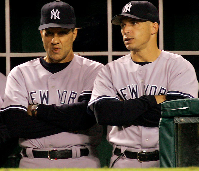 Joe Girardi has big shoes to fill while following Joe Torre as manager of the Yankees. In essence, Girardi is replacing a legend, but he's not the first to do so.<br><br>Send comments to siwriters@simail.com.