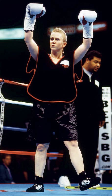 Is there anything better than rooting for Tonya Harding to get knocked out? On Feb. 22, 2003, Harding, the disgraced figure skater, made her official professional boxing debut. She lost in a four-round decision.