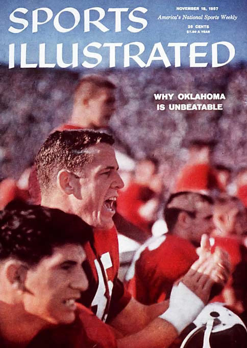 The Oklahoma Sooners won 47 consecutive games from Oct. 10, 1953, to Nov. 16, 1957, the longest such streak in Division I-A history.
