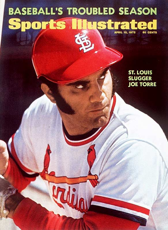 Torre made the cover of SI in 1972, the year he won the NL MVP award for hitting .363 with the Cardinals.
