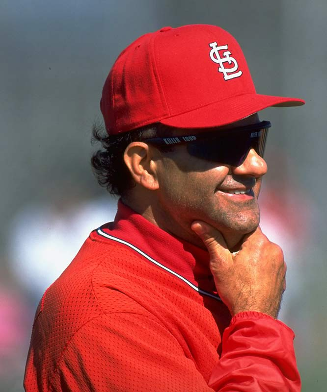 Torre managed the Cardinals from 1990-95. His best showing was a second-place finish in 1991.