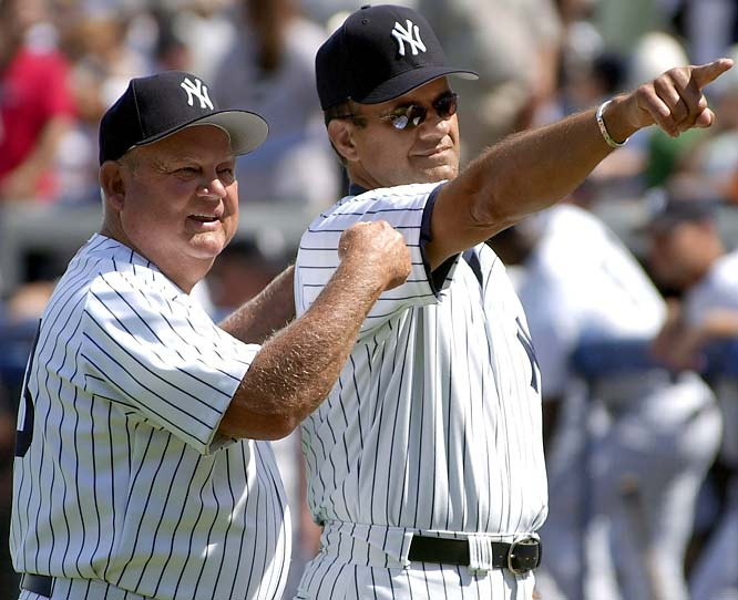 Don Zimmer served as Torre's bench coach for eight years, from 1996-2003.