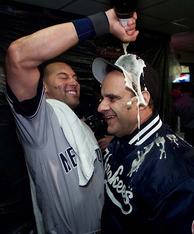 Shortstop Derek Jeter has spent his entire career playing for Joe Torre, winning four World Series along the way.