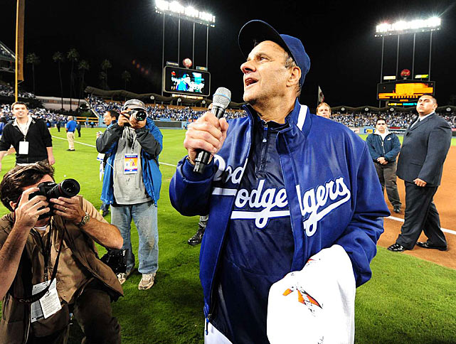 Torre went back to the National League to take over the Dogers in 2008. While the Yankees' playoff streak ended at 13, Torre's kept on going as he led the Dodgers to the NL West title in 2008 and again in 2009. In both years, the Dodgers were defeated by the Phillies in the NLCS.