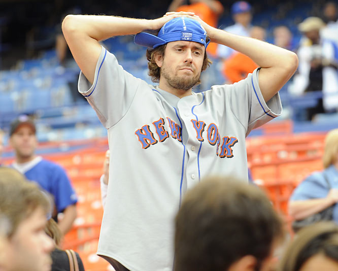 The Rally hats were no help for Mets fans as their team lost 13 of the final 19 games to get bumped from the playoff race in a dismal end to their season.
