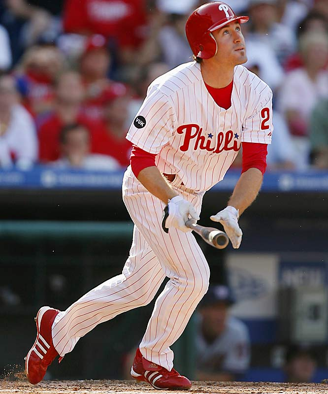 Despite missing a large chunk of the season in August, Utley still managed to get into MVP talks with inspiring play. A team-best .332 batting average (minimum of 100 AB's) and surpassing the 20 HR/100 RBI plateau has fans in the city of brotherly love in high spirits for the postseason.
