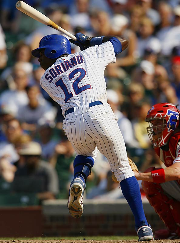 With a team-best 33 home runs and 42 doubles, Soriano provided the extra punch the Cubs have lacked in recent years.