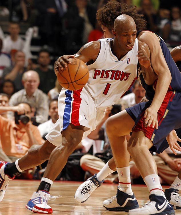 After averaging 18.6 points and 5.7 assists in leading the Pistons to the East's top seed in the 2006-07 regular season, Billups shot 38 percent and averaged 13.5 points, three turnovers and 2.5 assists over Detroit's final four playoff games. Though 31, Billups is still the primary cog in the Pistons' engine, a fact the team acknowledged in handing him a five-year, $60 million deal over the summer. While the long-underpaid Billups worked for every dollar of that deal, he'll be expected to work just as hard to prove his new deal is for services to come, not those already rendered.