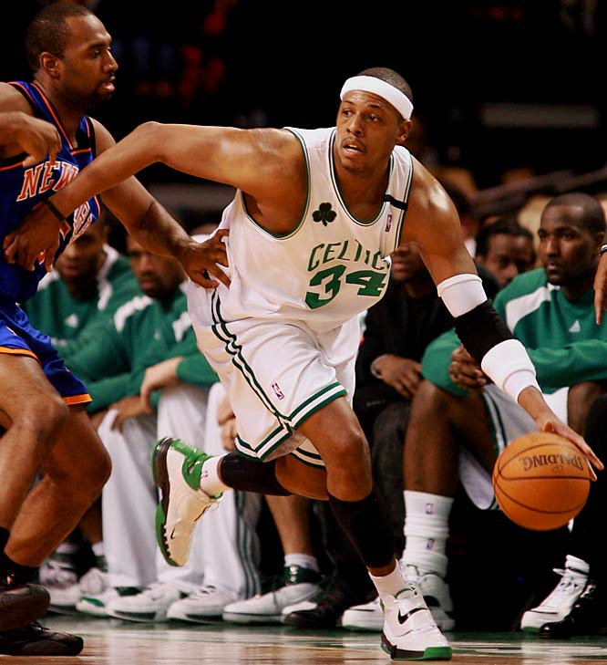 After two frustrating seasons with a young, rebuilding team, Pierce should be rejuvenated playing with Kevin Garnett and Ray Allen. With a big season, Pierce could move into fourth on the Celtics' all-time scoring list, behind No. 1 John Havlicek, Larry Bird and Robert Parish.