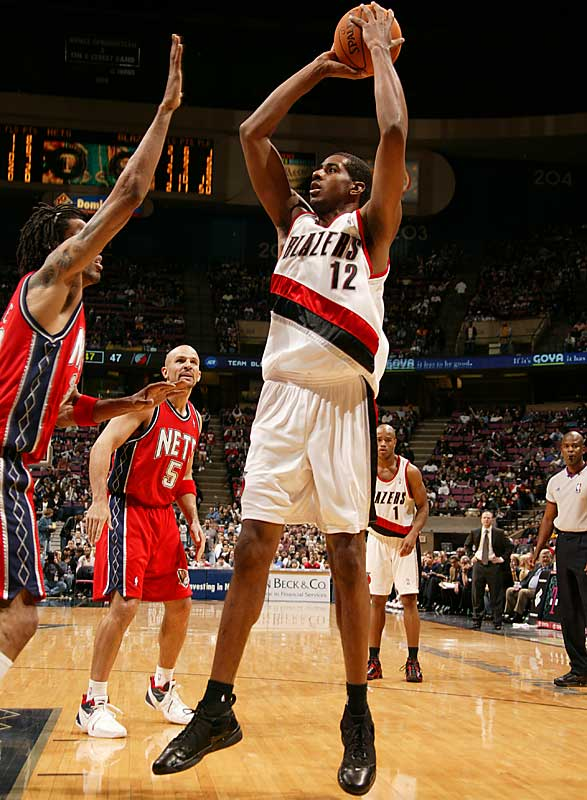 Zach Randolph's departure leaves a glaring need for post offense, a hole the Blazers are hoping Aldridge can fill after he came on to average 14 points on 53.4 percent shooting in the second half of his rookie season.