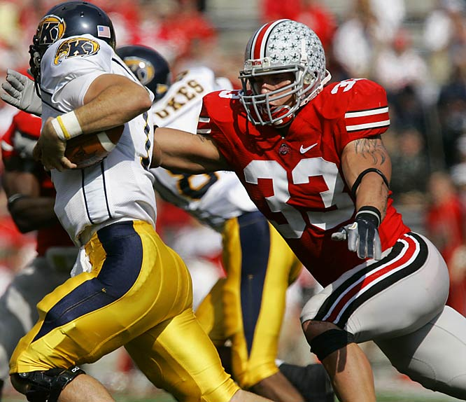 A dominant defender who could be used at a variety of linebacker spots, Laurinaitis has elevated his game this year.<br><br>* Denotes Underclassman