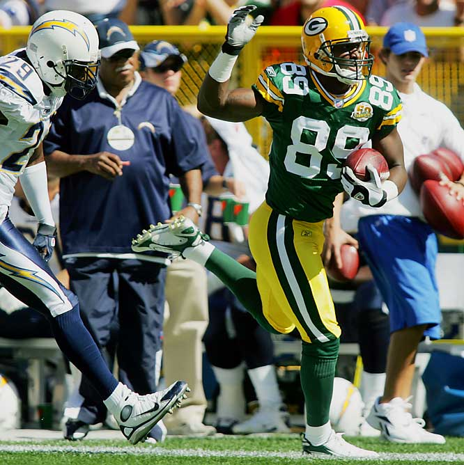 Until last week, Jones, a product of San Jose State, seemed like the Cinderella rookie story of the season. Then Jones had two costly fumbles in a loss to the Bears. But the Packers still have faith in the big, fast rookie, who has 23 catches for 293 yards and a touchdown this season.