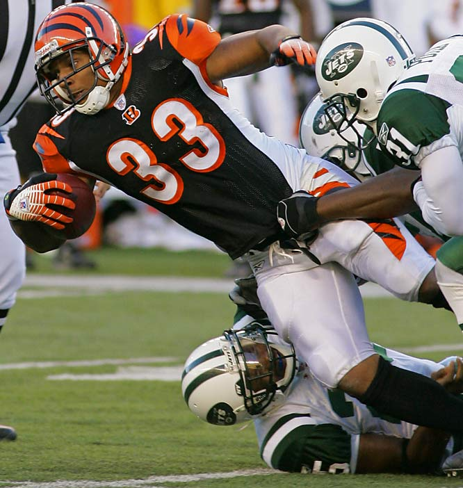 Watson ran for a career-high 130 yards and three touchdowns to help the Bengals beat the Jets. Most of his damage came in the second half to fuel a dramatic Cincinnati comeback.