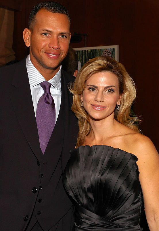 Even a three-piece suit and a beautiful wife at his side couldn't overwhelm Alex Rodriguez, seen here at a luncheon benefiting the AROD Family Foundation.