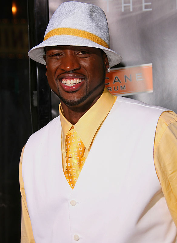 We're accustomed to seeing athletes on the field, but how comfortable are they away from competition? Here's a look at some of the top male stars.<br><br>Dwyane Wade, a onetime Sean John model and frequent name on NBA best-dressed lists, worked his trademark fedora into a white and yellow ensemble at the 2007 BET Awards after party.