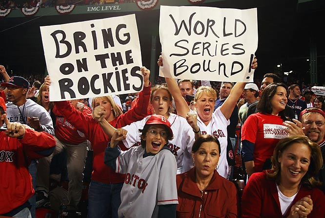 Even down three games to one, diehard Red Sox fans always believed.