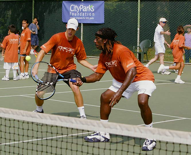 The Charlottesville, Va., native and violinist for the Dave Mathews Band hosts the annual Boyd Tinsley USTA Women's Championships in his hometown and sponsors a local youth tennis program that bears his name.