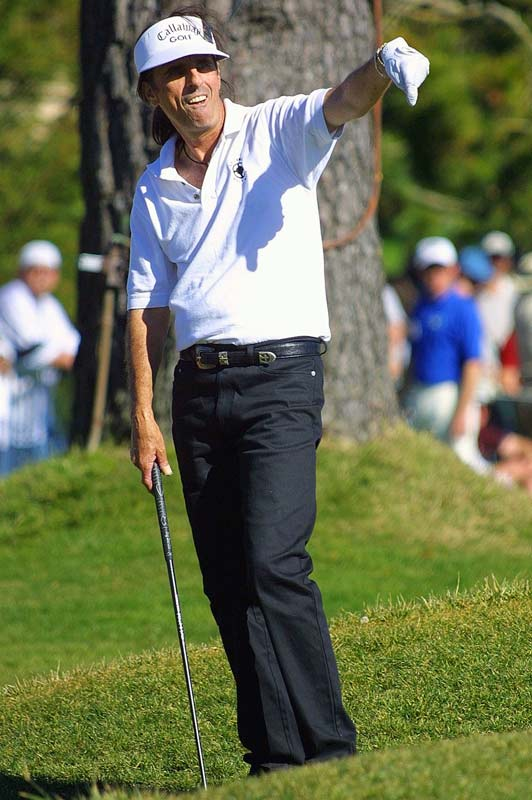 Is it shocking that the man who once carved up baby dolls and hung himself onstage is an accomplished golf nut who has played in the ATT&T Pebble Beach National Pro-Am Championship? He also hosts an annual celebrity-am tourney in Scottsdale, Ariz, and was once part-owner of the Diamondbacks