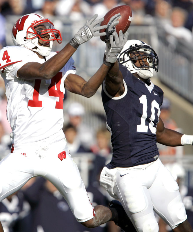 Lydell Sargeant and Penn State handed Kyle Jefferson and the Badgers their second straight loss after winning 14 in a row.