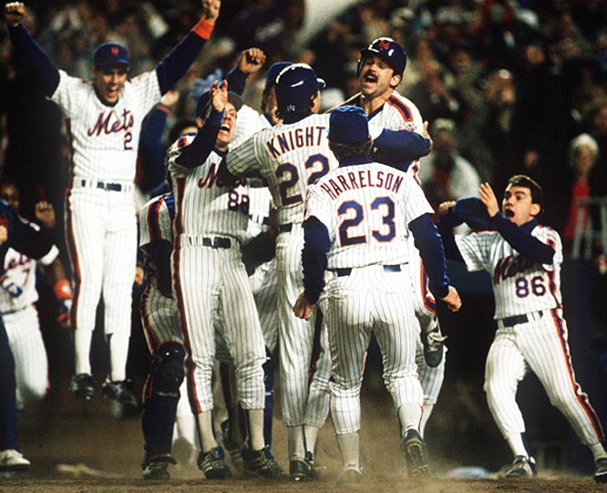 They boozed, brawled and pranced their way to the World Series championship. No curtain call was too superfluous to pass up, and no slight was too small to get worked up over. As Jeff Pearlman noted in his book, <i>The Bad Guys Won</i>, the Mets were so rowdy they trashed the team plane on the way back from winning the NLCS in Houston. In fact, he reports that one of the reasons the team was dismantled over the next several years was to get rid of the bad apples -- of which there were many.