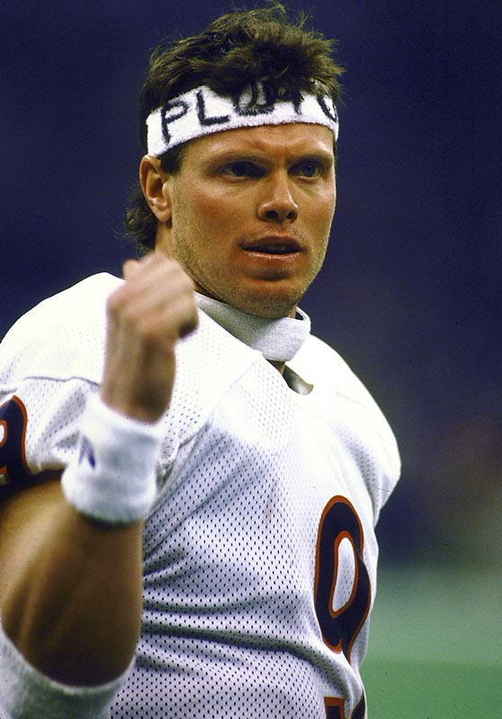 "Their funky quarterback Jim McMahon mooned helicopters before leading the Bears to the Super Bowl XX title. They did the ""Super Bowl Shuffle."" Their vaunted 46 defense left a trail of maimed quarterbacks in its wake as Chicago finished the season 15-1. In the playoffs, they allowed a total of 10 points in three games. They would bring in defensive tackle/kitchen appliance William ""The Refrigerator"" Perry to run in touchdowns from the goal line, just to pour salt on the wound."