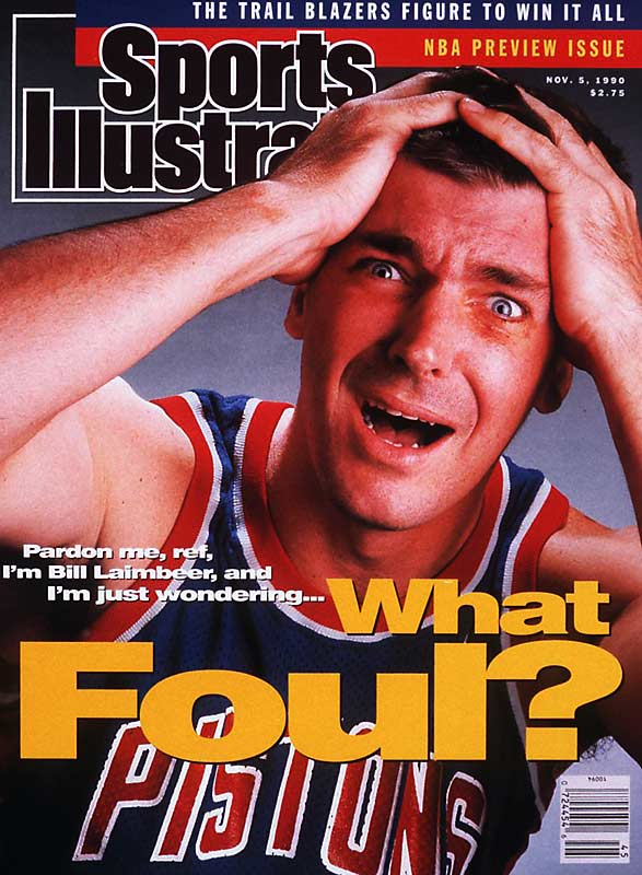 """Bill Laimbeer and Rick Mahorn were the enforcers of the """"Bad Boys,"""" who won back-to-back NBA titles on the strength of their suffocating defense and unrelenting physical style of play. Rival stars such as Larry Bird and Charles Barkley would be the first to testify to that."""