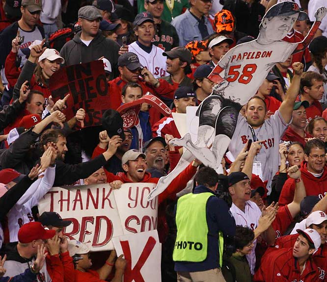 Boston fans in Colorado always maintained their faith in the Red Sox, and a four-game sweep of the Rockies strengthened those beliefs.