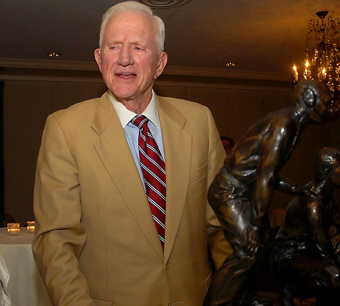 The last of a dying breed: a great football coach-turned-outstanding athletic director. A fine Georgia Tech QB, Broyles' Arkansas teams won seven Southwest Conference titles from 1958-77 and the '64 national championship. As AD since '74 (he retires Dec. 31), Broyles built one of the nation's finest across-the-board athletic programs.