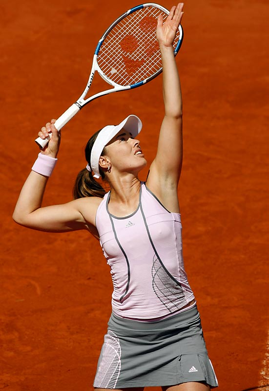 Her first retirement in 2002 was due to injuries. This year's was a stunner: The five-time Grand Slam champ tearfully announced she tested positive for cocaine at Wimbledon after losing in the third round. Hingis, who denied the charge, had come back in '06. She won the Australian Open at 16, and later Wimbledon and the U.S. Open.