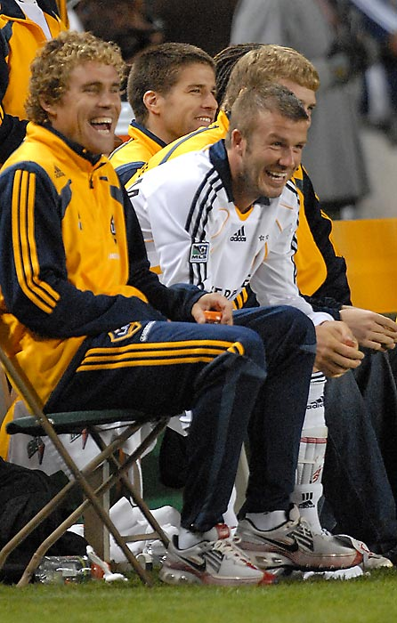 Not every L.A. story has an Hollywood ending. The Galaxy, home of international star David Beckham and U.S. national team stud Landon Donovan, finished with a 9-14-7 record for 34 points (the league's third-worst mark) and failed to make the playoffs for the second consecutive year. Though Beckham fought valiantly through the knee injury he brought with him from Europe, he ended up playing in only five regular-season games and failed to provide the spark for a postseason berth. Coach Frank Yallop resigned in the aftermath, escaping from L.A. to San Jose and an expansion team that will debut next season.