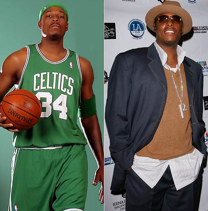 Boston's elder statesman of the C's gets an A  in fashion. Pierce even has his own personalized P2 jewelry. With Kevin Garnett and Ray Allen, he's now perfectly coordinated.