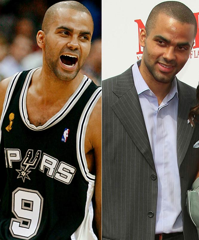 He's from France. He's married to Eva Longoria, whom he wed in a castle. He's won another NBA title with the Spurs. Tony's got style out the wazoo, on and off the court.