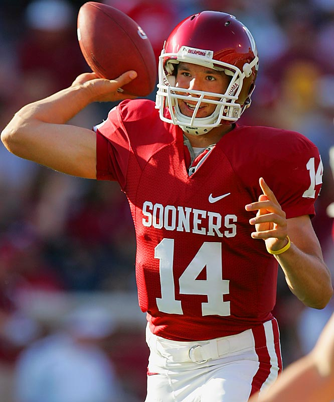 CAN BRADFORD STEP UP FROM MEMORIAL STADIUM?<br><br> When it comes to playing at home versus playing on the road, Oklahoma freshman QB Sam Bradford is night and day. In Oklahoma's seven games in the comfy confines of Memorial Stadium, the QB has thrown 25 touchdowns and three picks. In five games on the road, he has seven touchdowns and four picks. How will he fair in the Alamodome?