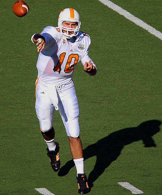 AINGE'S REDEMPTION.<br><br>Tennessee senior QB Erik Ainge has played against LSU just once -- and it wasn't very pretty. In his sophomore season, Ainge went just 7-of-19 for 57 yards and threw an interception that was returned for a touchdown.