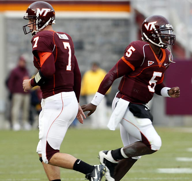 TWO ARE BETTER THAN ONE ... AT LEAST FOR THE HOKIES.<br><br>BC does just fine playing with one QB, senior star Matt Ryan. But Virginia Tech opts for a pair of signal-callers: Sean Glennon and Tyrod Taylor. The Hokies offense has flourished since Frank Beamer decided to split time between pocket-passing Glennon and the more mobile Taylor.