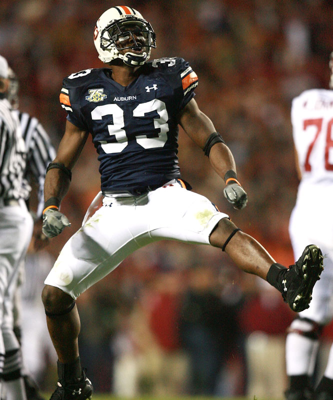Eric Brock and the Tigers won their sixth straight Iron Bowl, the longest winning streak for the Tigers in the rivalry.