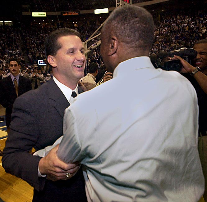 "There may not have been a college basketball rivalry in the 1990s more heated than Massachusetts-Temple -- and those passions boiled over after the Minutemen scored a crucial one-point victory on Feb. 13, 1994. After the game, Chaney took objection to UMass coach John Calipari's apparent verbal intimidation of the officials -- and interrupted Calipari's press conference with violent threats. ""I'll kill you!"" rasped Chaney as onlookers restrained him."