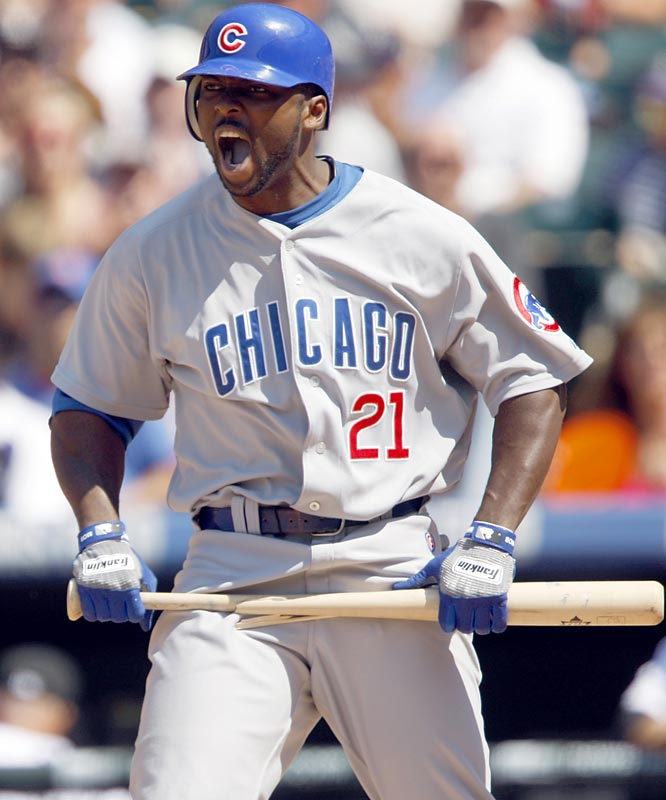 The Cubs' suspension of Bradley for conduct detrimental to the team (critical comments to a newspaper) is just the latest incident for the troubled outfielder. In his first season of a three-year, $30 million contract, Bradley has already worn out his welcome with manager Lou Piniella (who sent Bradley home in the middle of a game in June), his teammates (who support the suspension) and Chicago fans (who relentlessly boo him in Wrigley Field). The temperamental slugger has been a lightning rod for controversy. In 2007, Bradley tore his ACL during an altercation with first base umpire Mike Winters (Winters had reportedly used profanity towards Bradley and was suspended for the rest of the season and the playoffs). Last season, Bradley reportedly stormed to the press box and went after Royals announcer Ryan Lefebvre in reaction to a comment Lefebvre said on the air.