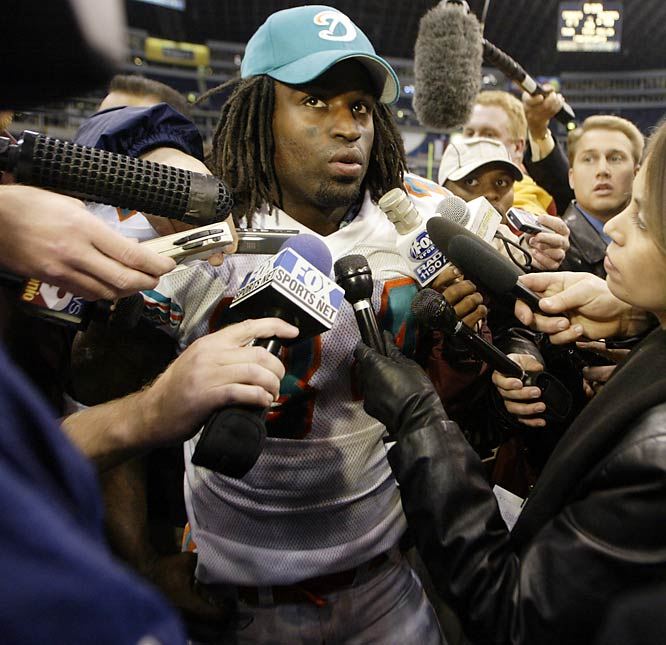 Williams shocked his Dolphins teammates when he retired just prior to the 2004 season at 27. Giving up $5 million in salary, Williams told a Miami paper he quit in part so he could smoke marijuana without punishment from the NFL, which reportedly was about to suspend the former Longhorn for four games for violating its substance-abuse policy. He then traveled the world from Europe to Fiji and lived on an Australian campground in a tent. He returned to study holistic healing in a small city near Sacramento. Three seasons later, Williams, who claims yoga cured him of his addiction to marijuana, was granted permission to return to the NFL.