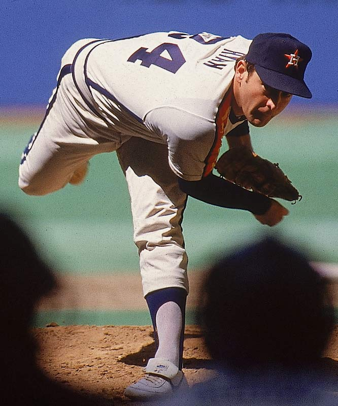 This was a record contract in the winter of 1979, scandalously high. But Ryan made it pay off immediately, leading the Astros to the first postseason in their history. The Express had a 2.91 ERA from 1980 to '83, went 52-36 and finished in the top five in strikeouts each year. The Astros bought a load of credibility with this deal.