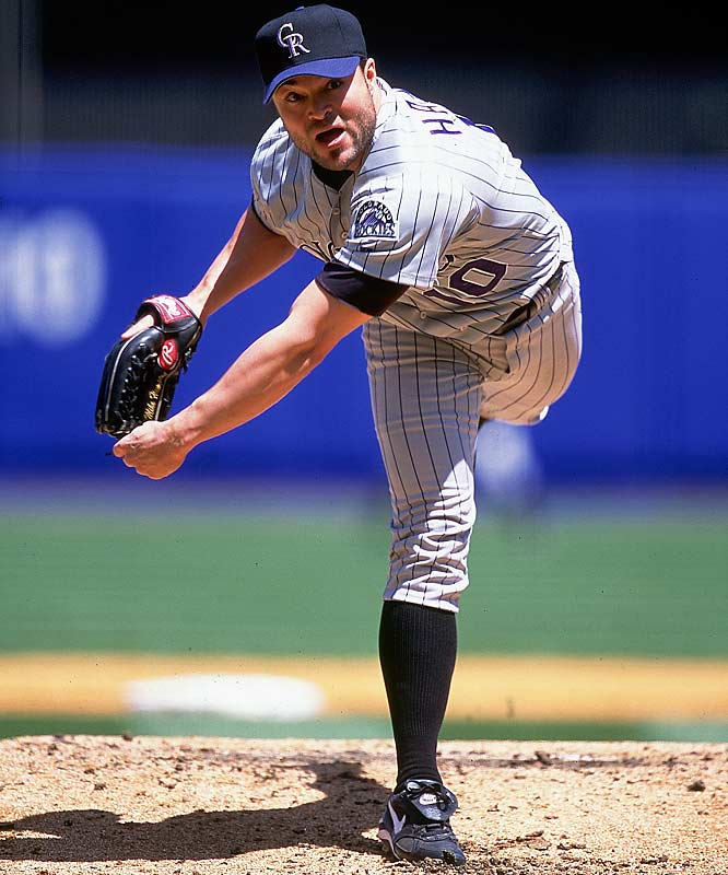 This deal, signed in the wild winter before the '01 season, was doomed from the start. The lefty Hampton was so bad -- 21-28, 5.75 ERA -- that the Rocks paid Florida (and then the Braves) to take him. The Braves still owe Hampton -- who missed all of '06 and '07 -- $15 million for '08.