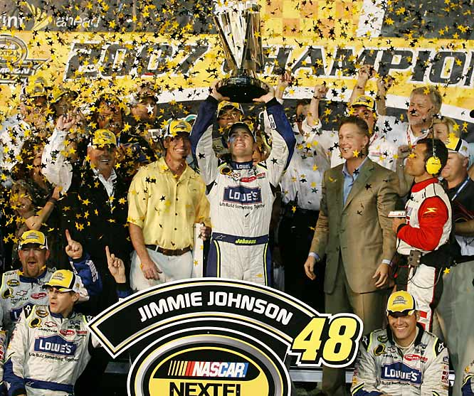 Once again Jimmie Johnson proved to be NASCAR's valedictorian by winning his second straight Nextel Cup.