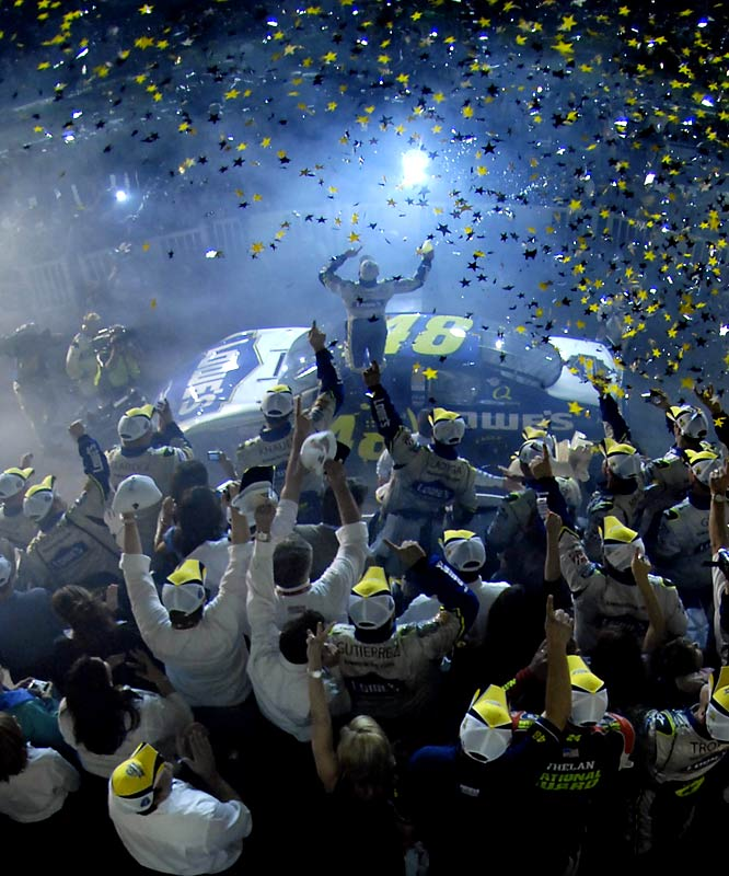 A record 12 different drivers, including Jeff Gordon, had a shot at winning the championship when the playoffs began just 10 races ago.